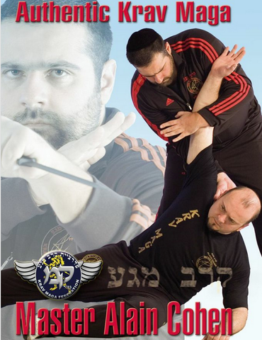 Authentic Krav Maga  DVD by Alain Cohen