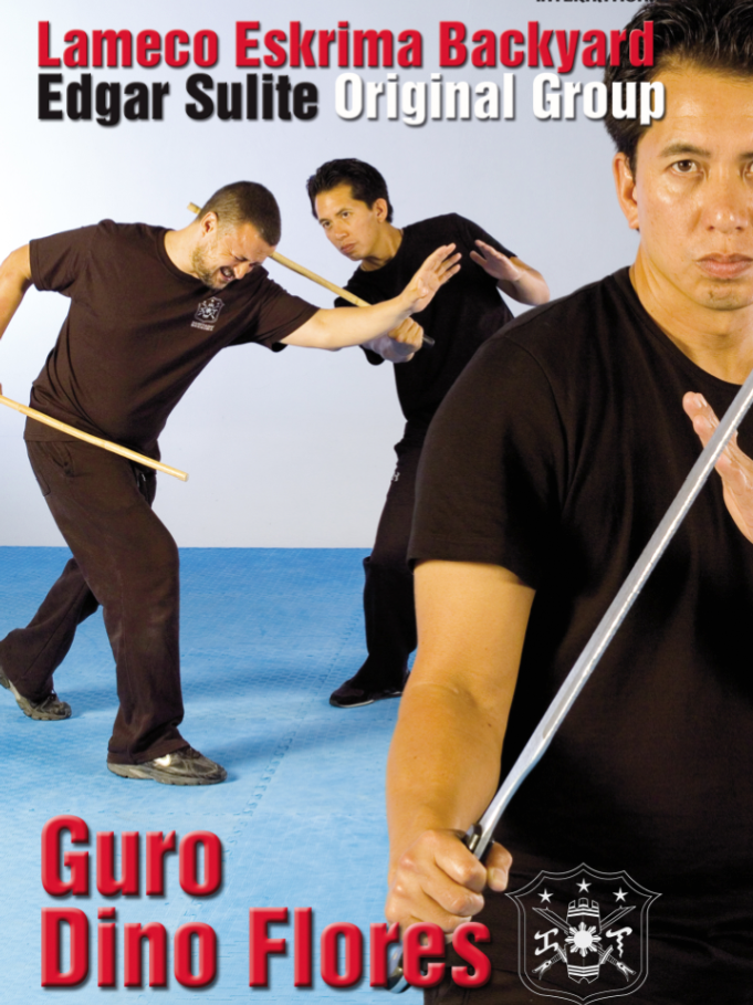 Lameco Eskrima Backyard Sulite Original Group DVD by Edgar Sulite 1