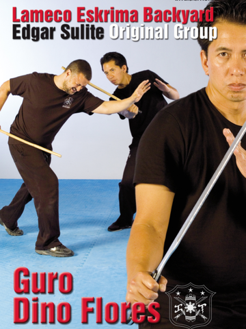 Lameco Eskrima Backyard Edgar Sulite Original Group DVD by Dino Flores - Budovideos