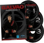 Andre Galvao Favorite Moves Gi 3 DVD Set - Budovideos