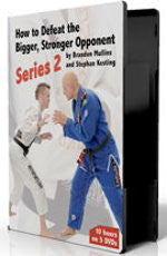 How to Defeat the Bigger, Stronger Opponent Series 2 (5 DVD set) by Stephan Kesting & Brandon Mullins - Budovideos