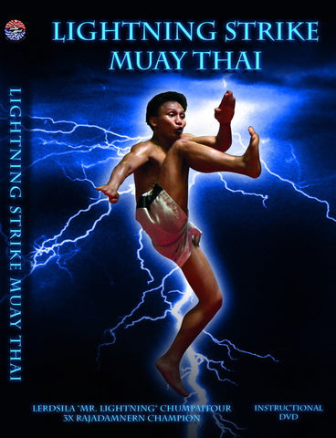 Lightning Strike Muay Thai DVD with Lerdsila