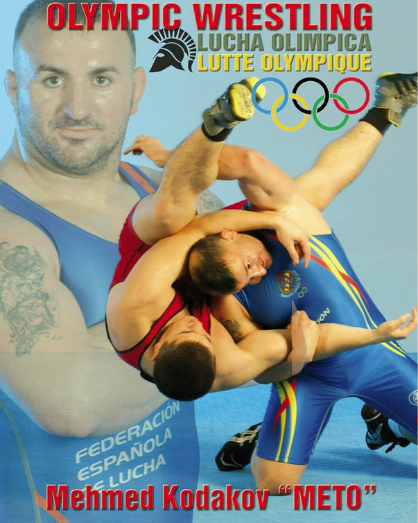Olympic Wrestling DVD by Mehmed Kodakov 1