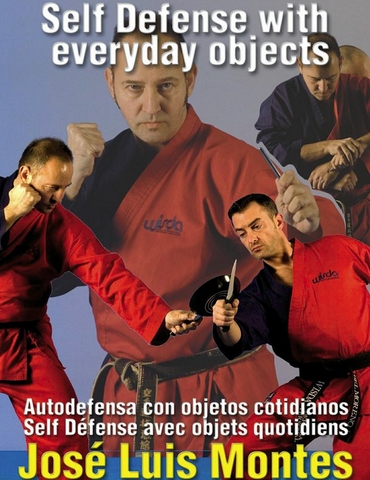 Self Defense with Everyday Objects DVD by Jose Montes - Budovideos