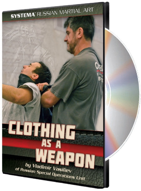 Systema: Clothing as a Weapon DVD by Vladimir Vasiliev - Budovideos