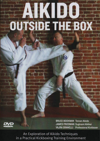 Aikido Outside the Box DVD by Bruce Bookman - Budovideos Inc