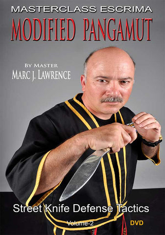 Masterclass Escrima - Modified Pangamut - Street Knife Defense Tactics by Master Marc J. Lawrence - Budovideos