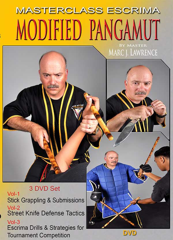 Masterclass Escrima - Modified Pangamut 3 DVD Set by Master Marc J. Lawrence 1