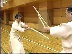 Shinto Muso Ryu: Technical Skills Vol 2 by Kenji Matsui DVD 4