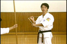 Actual Fighting: Nunchaku Techniques DVD by Mazumasa Yokoyama 3