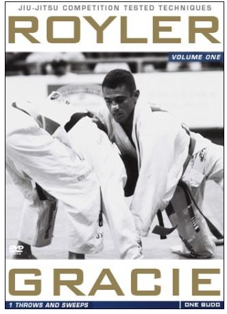 Royler Gracie Competition Tested Techniques DVD 1: Throws and Sweeps 7