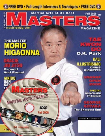 Masters Magazine with DVD Fall 2008 - Budovideos Inc