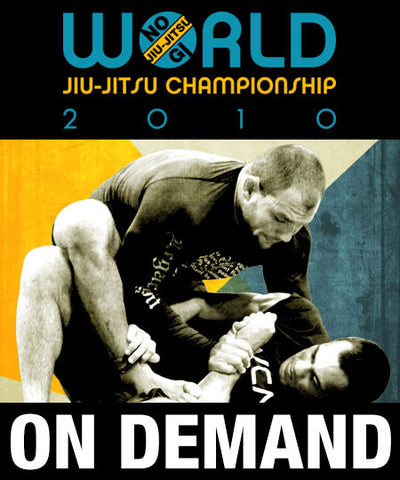 Cover Photo - 2010 No Gi World Championships Replay (On Demand)