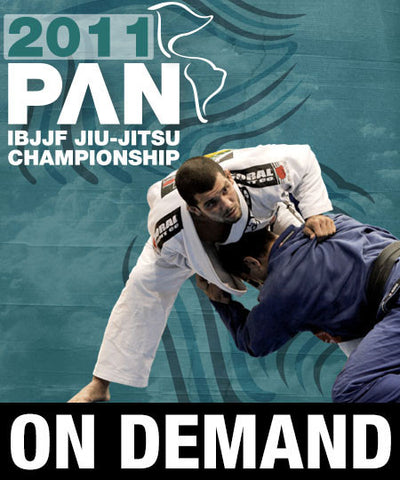 Cover Photo - 2011 Pan Jiu-jitsu Finals Matches (On Demand)