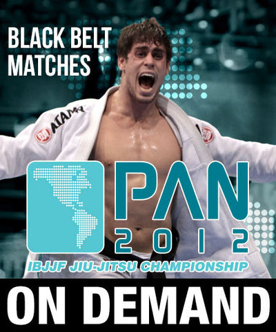 2012 Pan Jiu-jitsu Black Belt Matches (On Demand)