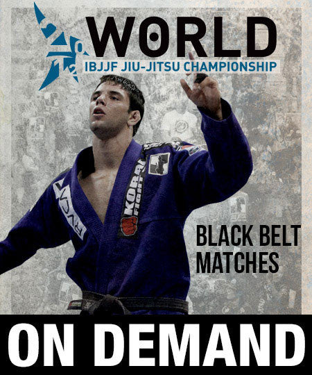 2012 World Jiu-jitsu Black Belt Matches (On Demand) - Budovideos