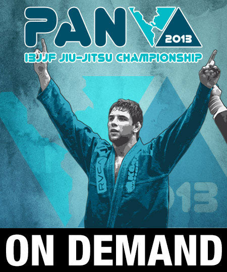 2013 Pan Jiu-jitsu Championship (On Demand) - Budovideos