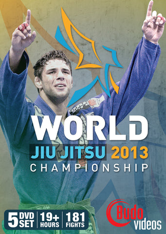 2013 Jiu-jitsu World Championships Complete 5 DVD Set