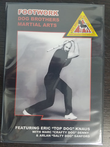 Dog Brothers Martial Arts: Footwork DVD
