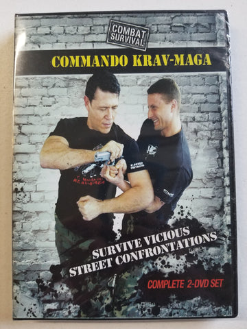 Survive Vicious Street Confrontations 2 DVD Set with Moni Aizik - Budovideos