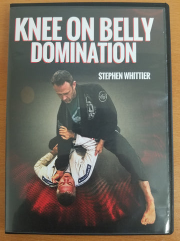 Knee On Belly Domination 3 DVD Set by Stephen Whittier - Budovideos