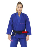 Women's Pro Evolution  BJJ Gi - Royal Blue - Budovideos