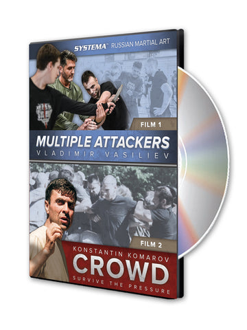 Systema: Multiple Attackers & Crowd DVD - Budovideos