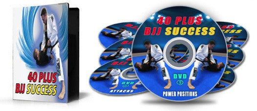 40 Plus BJJ Success 7 DVD Set with Stephen Whittier - Budovideos