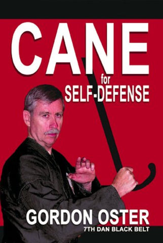 Cane for Self Defense DVD by Gordon Oster (Preowned)