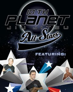 10th Planet Jiu-jitsu All Stars 2 DVD Set - Budovideos