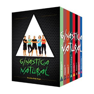 Ginastica Natural: Training Workout 8 DVD Set - Budovideos