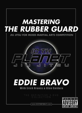 Mastering the Rubber Guard 3 DVD Set by Eddie Bravo - Budovideos