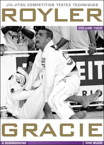 Royler Gracie Competition Tested Techniques DVD 4: Submissions 1
