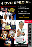 History of Traditional Karate & Summer Camp 4 DVD Set by Hidetaka Nishiyama