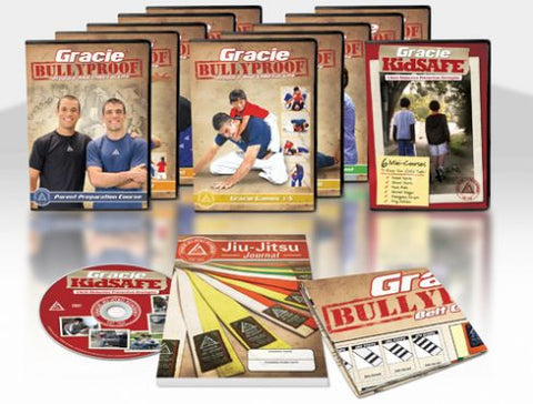 Gracie Bullyproof 11 DVD Package by Gracie Academy 2