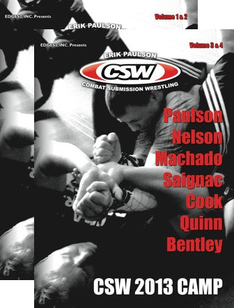 Erik Paulson CSW 2013 Camp 4 Volume DVD Set - Budovideos