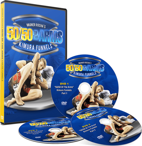 50/50 Of The Arms: Kimura Funnels 3 DVD Set by Vagner Rocha