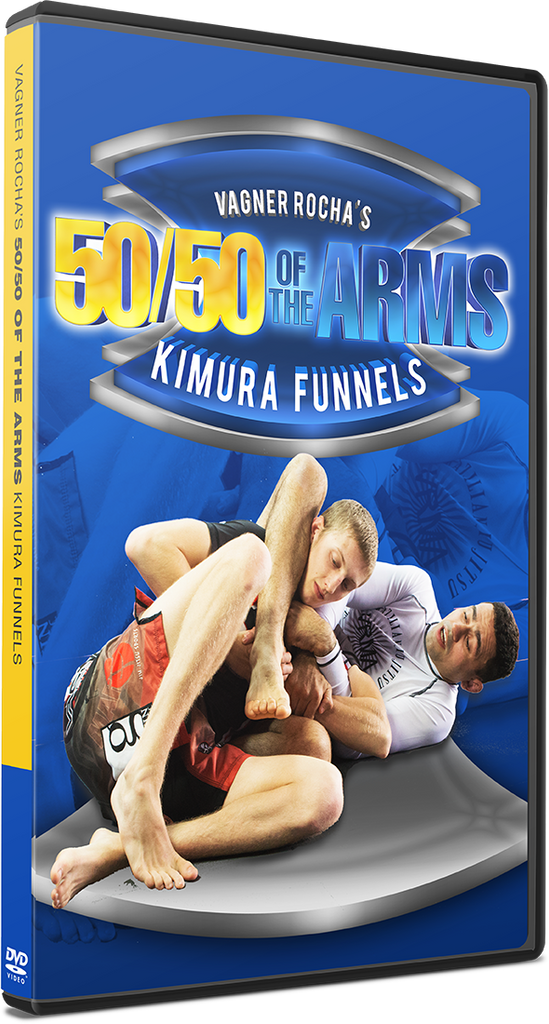 50/50 Of The Arms: Kimura Funnels 3 DVD Set by Vagner Rocha - Budovideos