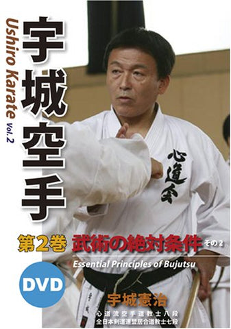 Ushiro Karate: Essential Principles of Bujutsu DVD 2 by Kenji Ushiro (Preowned) - Budovideos