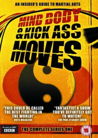 Mind, Body & Kick Ass Moves Martial Arts Documentary Series 2 DVD Set (Preowned)