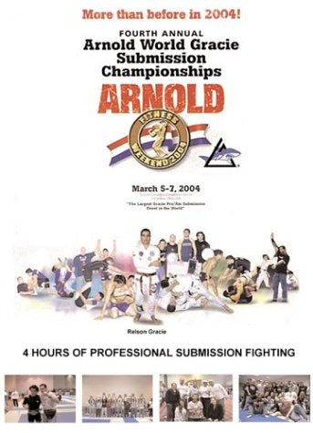 Arnold World / Gracie Submission Championships 2004 DVD (Preowned)
