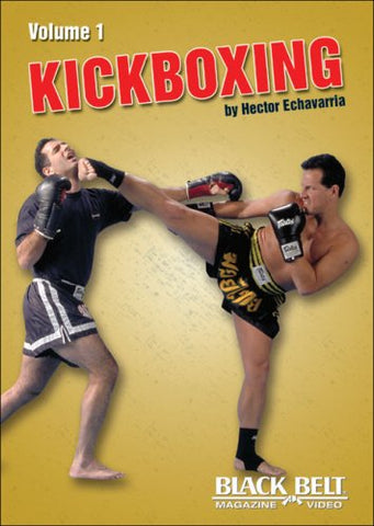 Kickboxing 3 DVD Set by Hector Echavarria - Budovideos