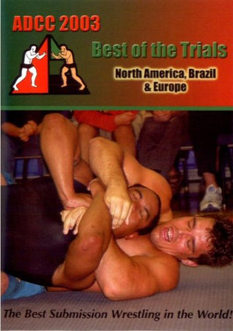 ADCC 2003 Best of the Trials 2 DVD Set - Budovideos