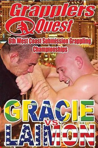 Grapplers Quest 6th West Coast Submission Grappling Championships (Gracie Vs Laimon) DVD (Preowned)