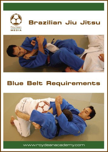 Brazilian Jiu Jitsu Blue Belt Requirements 2 DVD Set by Roy Dean