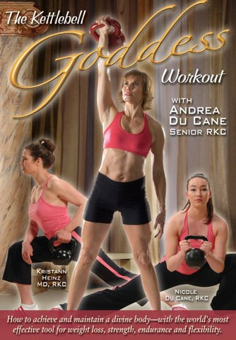 The Kettlebell Goddess Workout DVD by Andrea Du Cane (Preowned) - Budovideos