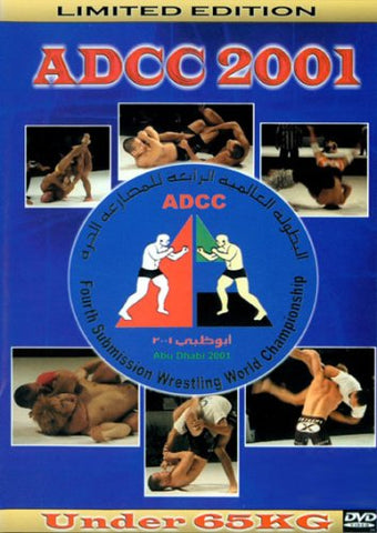 ADCC 2001: Under 65kg Division DVD (Preowned) - Budovideos