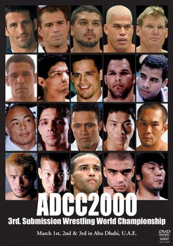 ADCC 2000 Submission Wrestling World Championships DVD (Preowned) - Budovideos