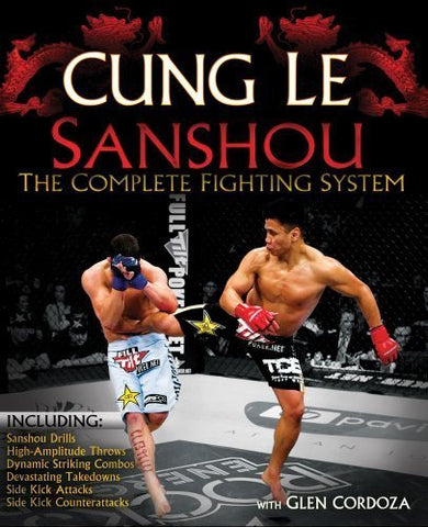 San Shou: The Complete Fighting System Book by Cung Le (Preowned) - Budovideos