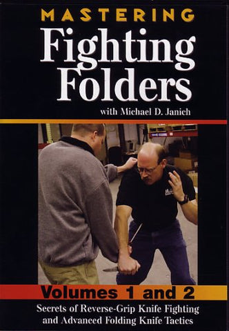 Mastering Fighting Folders 2 DVD Set by Michael Janich (Preowned) - Budovideos